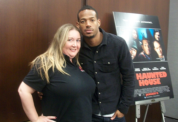 That's me - Madison Monroe with Marlon!